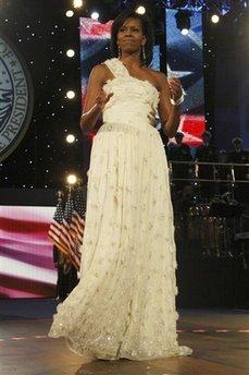 suknia balowa Michelle Obamy