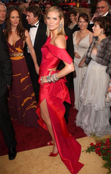 Oscary 2009: Heidi Klum