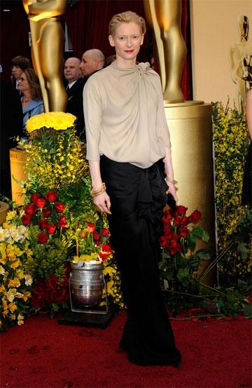 Oscary 2009: Tilda Swinton