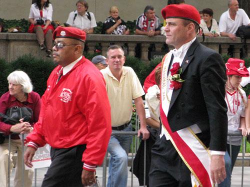 Wielki Marszałek Parady Curtis Sliwa w niedzielę zrobił sobie przerwę w ściganiu mafii.
