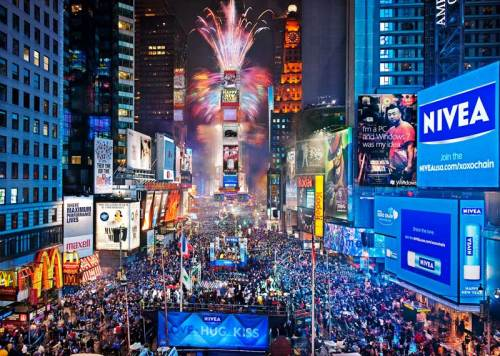 Sylwester na Times Square
